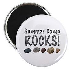Summer Camp Rocks! Magnet