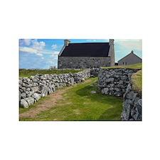 Croft Houses, Scotland Rectangle Magnet