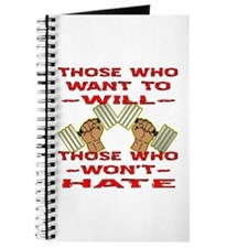 Who Won't - Hate #2 Journal