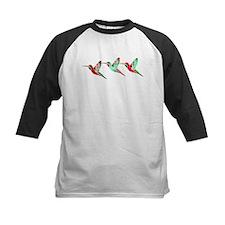 Xmas Hummingbirds Baseball Jersey