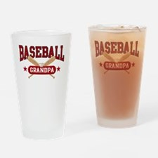 Baseball Grandpa Drinking Glass