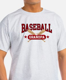 Baseball Grandpa T-Shirt