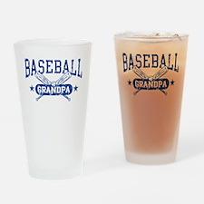 Baseball Grandpa Drinking Glass