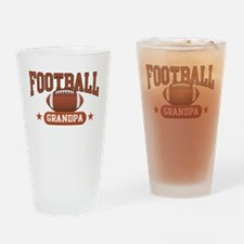 Football Grandpa Drinking Glass