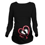 Baby Dark Long Sleeve Maternity T-Shirt