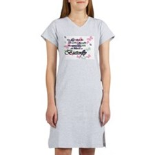 Inspirational Butterfly Women's Nightshirt