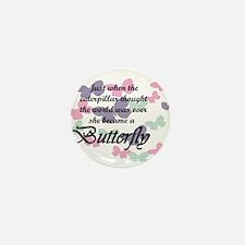 Inspirational Butterfly Mini Button
