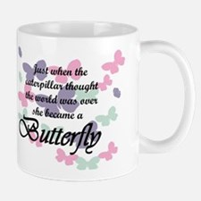 Inspirational Butterfly Mugs