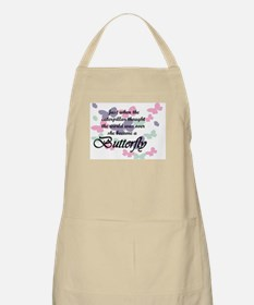 Inspirational Butterfly Apron