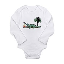 Xmas Gator Gift Body Suit