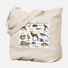 Animals of Death Valley Tote Bag