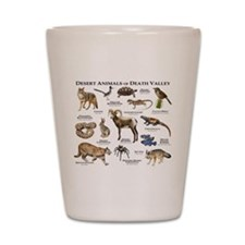 Animals of Death Valley Shot Glass