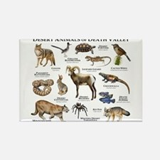 Animals of Death Valley Rectangle Magnet