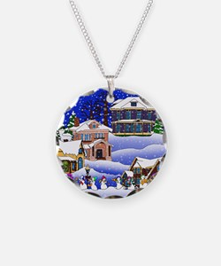 Christmas Village Necklace