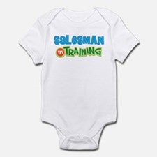 Salesman in Training Infant Bodysuit
