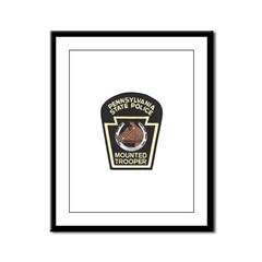 PA Mounted State Police Framed Panel Print