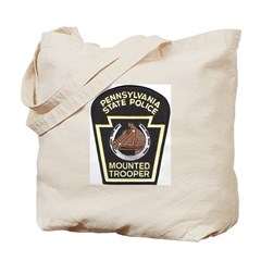PA Mounted State Police Tote Bag