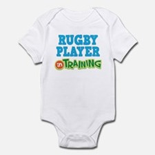 Rugby Player in Training Infant Bodysuit