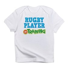 Rugby Player in Training Infant T-Shirt