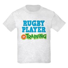 Rugby Player in Training T-Shirt