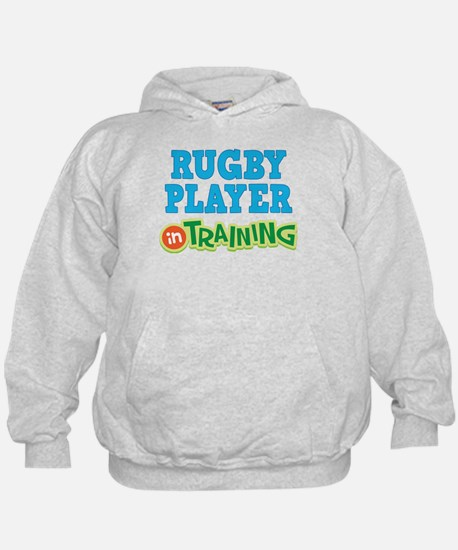 Rugby Player in Training Hoodie