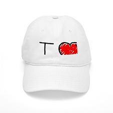i love LDR Baseball Cap