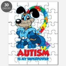Autism Is My Super Power Puzzle