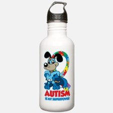 Autism Is My Super Power Water Bottle