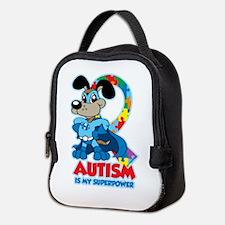 Autism Is My Super Power Neoprene Lunch Bag