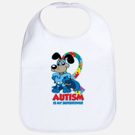 Autism Is My Super Power Bib