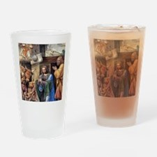 Nativity and Annunciation to the Sh Drinking Glass