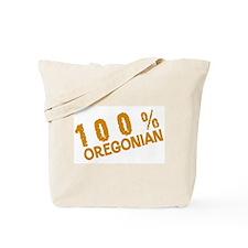 100 Percent Oregonian Tote Bag