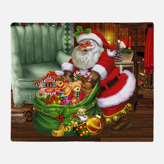 Santa Claus! Throw Blanket
