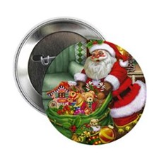 "Santa Claus! 2.25"" Button"