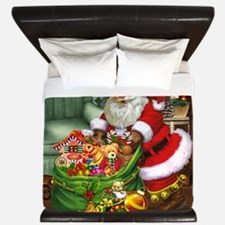 Santa Claus! King Duvet