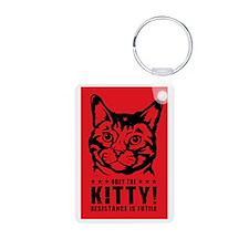 che_kitty_lg Keychains