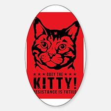 che_kitty_lg Sticker (Oval)