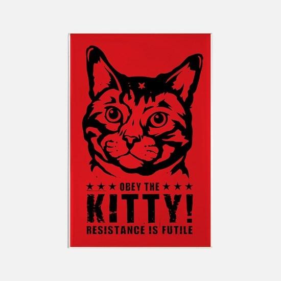 che_kitty_lg Rectangle Magnet