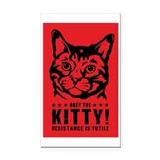 che_kitty_lg Rectangle Car Magnet