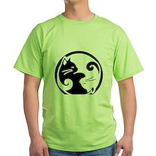 yin-yang-cat T-Shirt
