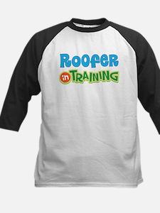 Roofer in Training Kids Baseball Jersey