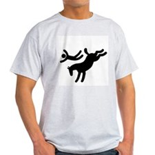 TM bucking horse stunts T-Shirt
