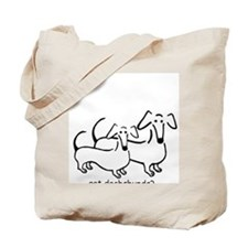 got dachshunds-1 Tote Bag