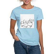 got dachshunds-1 T-Shirt