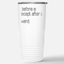 weirdrectangle Travel Mug