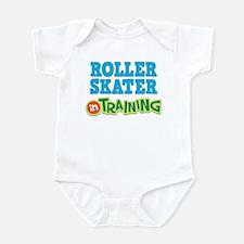 Roller Skater in Training Infant Bodysuit