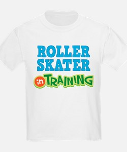Roller Skater in Training T-Shirt