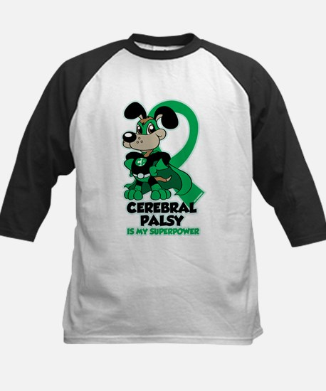 Cerebral Palsy Is My Superpower Kids Baseball Jers