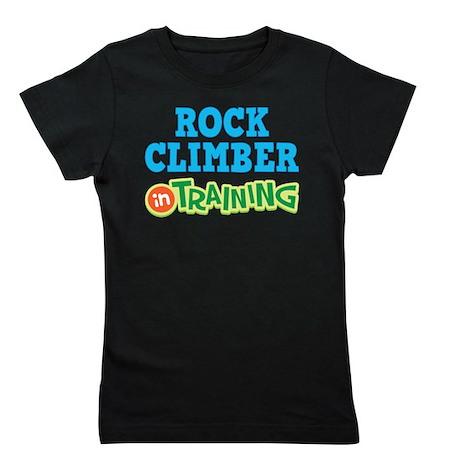Rock Climber in Training Girl's Tee