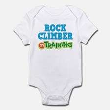 Rock Climber in Training Infant Bodysuit